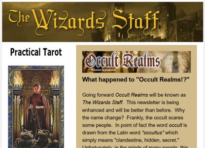Wizards Staff Screen shot